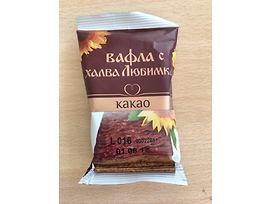 Любимка Вафла с халва какао 35 г