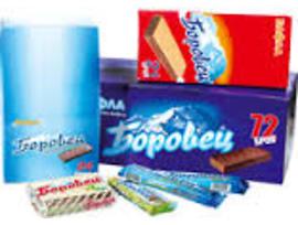 Шоколадова вафла Боровец 55 г кутия 72 бр
