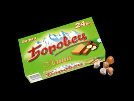 Ден и Нощ Обикновени вафли Боровец Лешник 24 бр 550 гр