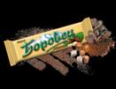 Шоколадова вафла Боровец с лешници 45 г кутия 24 бр