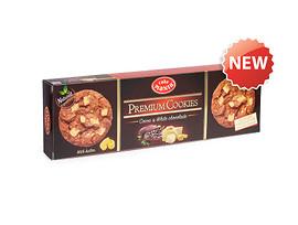 Премиум бисквити с какао и бял шоколад 110 г