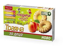 Престиж Бисквити Траяна за деца с ябълка 127 г