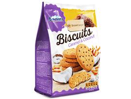 Бисквити Боровец с кокос и карамел 100 г
