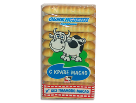 Кристал Обикновени бисквити с масло 130 г