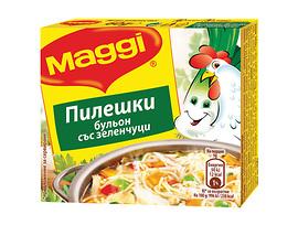 Maggi Бульон Пилешки със зеленчуци 60 г