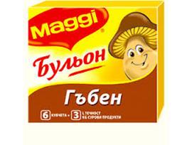 Maggi Бульон Гъбен 6 кубчета 60 гр