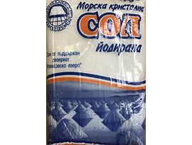 Морска кристална сол йодирана 10 кг