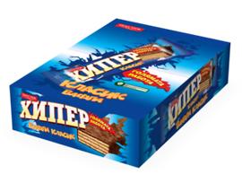 Шоколадовa вафлa Хипер 55 г кутия 25 бр