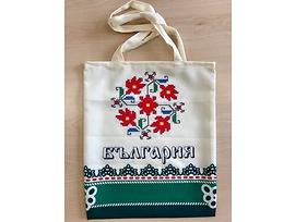 Торбичка с щампа шевици и надпис България 3