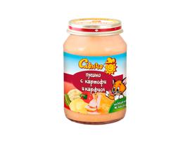 Слънчо бебешко пюре пуешко с картофи и карфиол 190 г