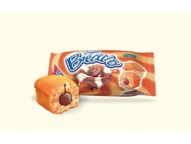 Победа Мини кексче Браво бял с какаов крем 30 гр