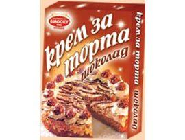 Биосет Крем за торта шоколад 75 гр