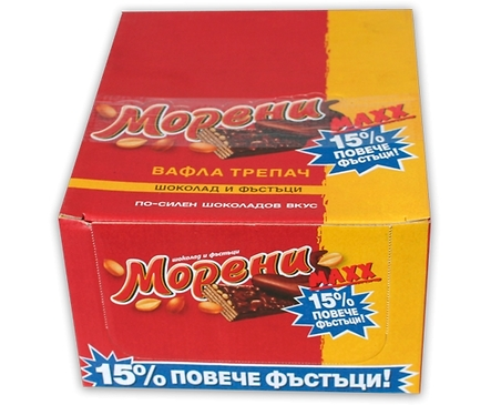 Вафла Морени Макс 50 гр кутия 30 бр