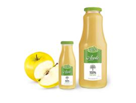 GRENO 100 сок от ябълки в стъклена бутилка 1000 мл