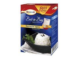 Фамилекс ориз басмати свари в пакет 250 г