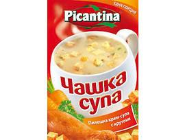 Пикантина чаша супа картофена с крутони 23 г