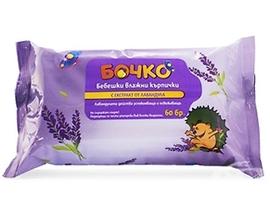 Бочко мокри кърпи лавандула 200 гр