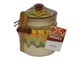 Пчелен мед в глинено гърне 380 г
