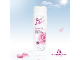 Българска роза гел за лице с розово масло и йогурт 250 г