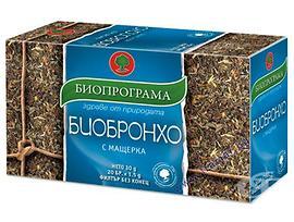 Биопрограма чай Биобронхо с мащерка 30 г