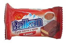 Балкан Суха паста с какаов крем 38 г