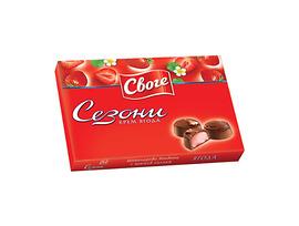 Бонбони Сезони Ягода шоколадови 160 г
