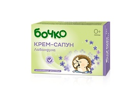 Бочко Бебешки сапун лавандула 80 г