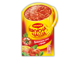 Maggi Вкусна чаша Доматена супа с фиде 15 гр