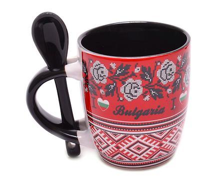 Чаша лъжичка Обичам България