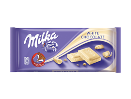 Милка Бял Млечен шоколад 100 г