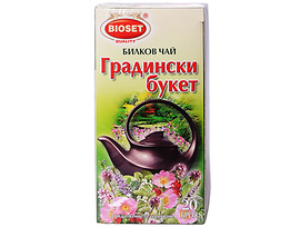 Биосет билков чай градински букет 30 г