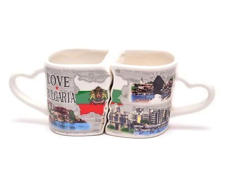 Комплект чаши България Любов