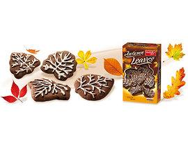 Бисквити Есенни листа какаови 280 г