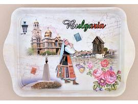 Поднос табличка България