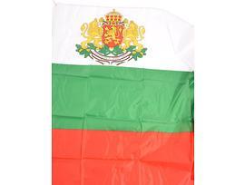 Българско знаме с герб