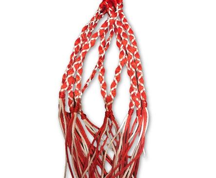 10 Мартеници гривни Червена коприна