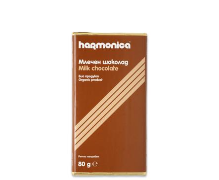 Хармоника млечен шоколад Био 40 г
