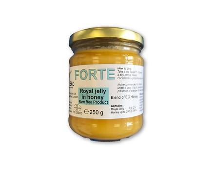Forte Български мед смесен с пчелно млечице 250 мл