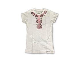 Дамска тениска с щампа българска шевица Мели