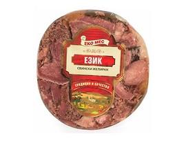 Еко мес Свински език вакуум 200 г