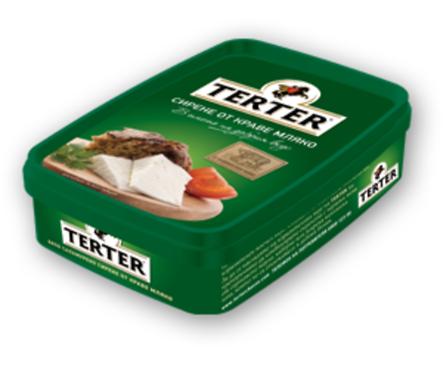 Тертер Сирене от краве мляко кутия 700 г