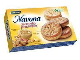 Бисквити с фъстъчен крем Навона 200 г