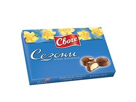Бонбони Сезони Ванилия шоколадови 160 г