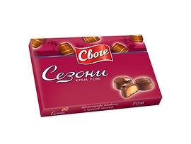 Бонбони Сезони Ром шоколадови 160 г