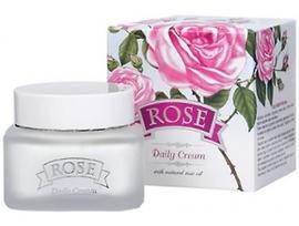 Българска роза Дневен крем Роза с розово масло 50 г