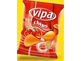 Випа чипс с чушка 60 г